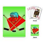 HOCKEY Ice Skate Puck Sports Girls TV  Playing Card