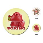 BOXING Sports Boxer Gloves Everlast Round Playing Card