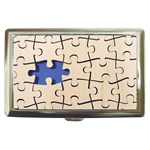 PUZZLE Game Gifts Pattern Cigarette Money Case Box