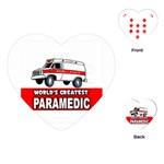 PARAMEDIC Ambulance RN EMT EMS Medical Nurse Heart Playing Card