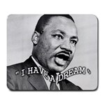 MARTIN LUTHER KING JR. School Hero MLK Dream Mouse Pad