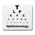 OPHTHALMOLOGY Eye Vision Chart Optometrist Mouse Pad
