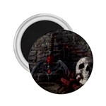 Goth Skull and Blood in Dungeon 2.25  Magnet