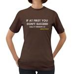Call it version 1.0 Women s Dark T-Shirt
