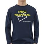 I read you e-mail Long Sleeve Dark T-Shirt