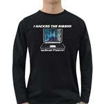 Hacked The Gibson Long Sleeve Dark T-Shirt