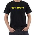 Got Root? Black T-Shirt