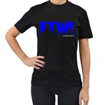For The Win! Women s Black T-Shirt