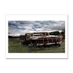 Apocalyptic Pickup Truck in Field Sticker A4 (10 pack)
