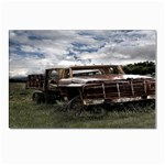 Apocalyptic Pickup Truck in Field Postcard 4  x 6