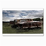 Apocalyptic Pickup Truck in Field Postcard 5  x 7