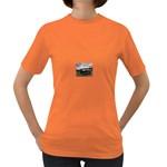 Apocalyptic Pickup Truck in Field Women s Dark T-Shirt