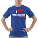 I love my computer Dark T-Shirt