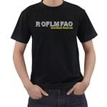ROFLMFAO Black T-Shirt