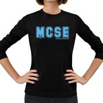 MCSE College Women s Long Sleeve Dark T-Shirt