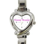 Yummy Mummy  Heart Italian Charm Watch