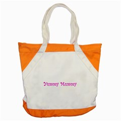 Yummy Mummy  Accent Tote Bag from SnappyGifts.co.uk Front