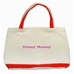 Yummy Mummy  Classic Tote Bag (Red)
