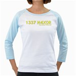 1337 H4x04 Girly Raglan