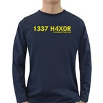 1337 H4x04 Long Sleeve Dark T-Shirt