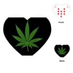 Pot Leaf ^ Playing Cards (Heart)