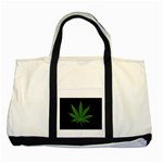 Pot Leaf ^ Two Tone Tote Bag