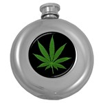 Pot Leaf ^ Hip Flask (5 oz)