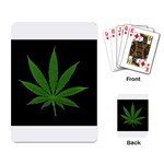 Pot Leaf ^ Playing Cards Single Design