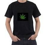 Pot Leaf ^ Black T-Shirt
