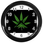 Pot Leaf ^ Wall Clock