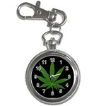 Pot Leaf ^ Key Chain Watch