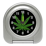 Pot Leaf ^ Travel Alarm Clock