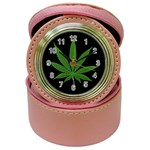Pot Leaf ^ Jewelry Case Clock