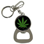 Pot Leaf ^ Bottle Opener Key Chain