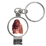 Irish Setter ^ Nail Clippers Key Chain