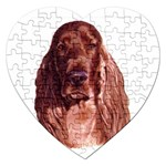Irish Setter ^ Jigsaw Puzzle (Heart)