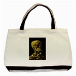 Skull With Cigarette ^ Classic Tote Bag