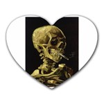 Skull With Cigarette ^ Mousepad (Heart)