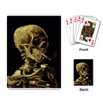 Skull With Cigarette ^ Playing Cards Single Design