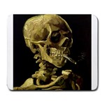 Skull With Cigarette ^ Large Mousepad