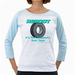 Reboot Duct Tape Girly Raglan