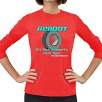 Reboot Duct Tape Women s Long Sleeve Dark T-Shirt