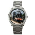 LOCOMOTIVE Boys Train Railway Driver Vintage Sport Metal Watch