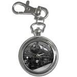 LOCOMOTIVE Train Railway Driver Classic Vintage Key Chain Watch