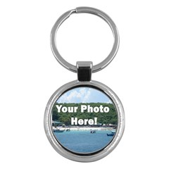 Make Your Own Key Chain (Round) from SnappyGifts.co.uk Front