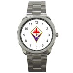 ACF Fiorentina Sport Metal Watch