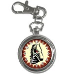 Horse head Key Chain Watch