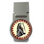 Horse head Money Clip (Round)