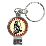 Horse head Nail Clippers Key Chain