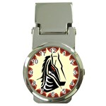 Horse head Money Clip Watch